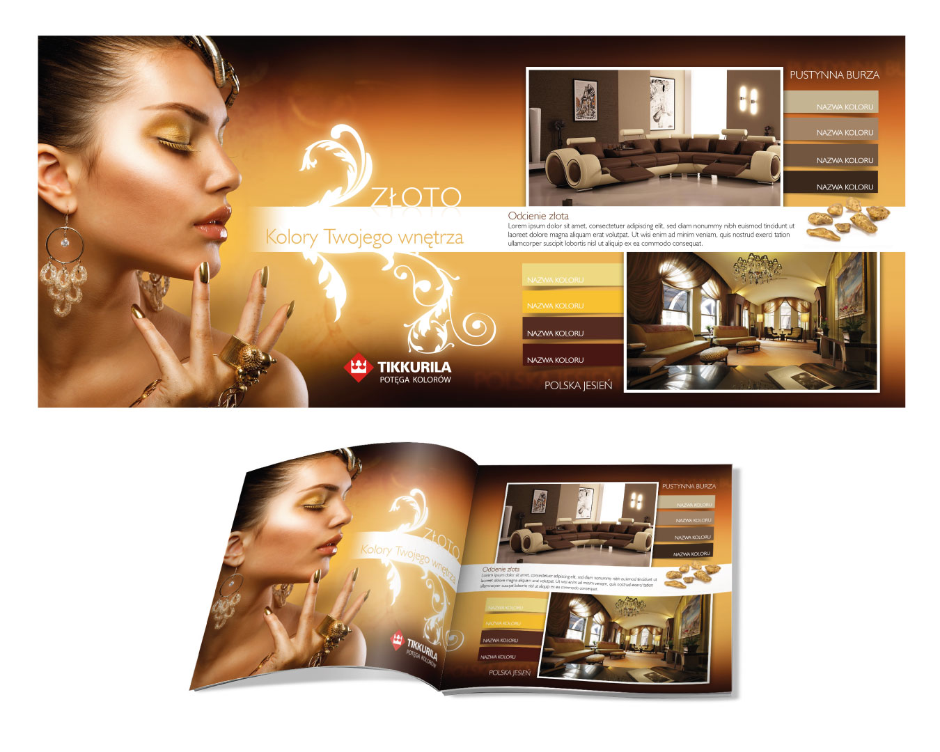 Tikkurila Catalogue Gold